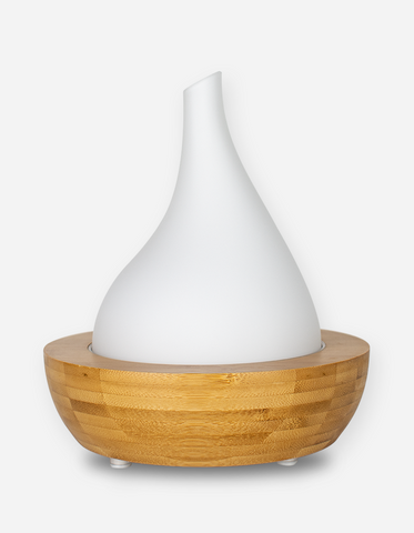 Aroma Diffuser - Bamboo Glass Flute