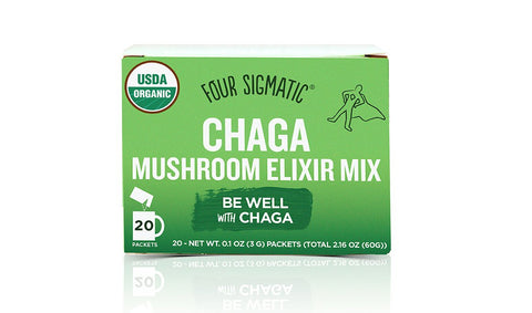 FOUR SIGMATIC Mushroom Elixir With Chaga
