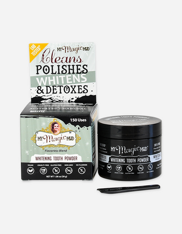 My Magic Mud Activated Charcoal Tooth Whitening Powder