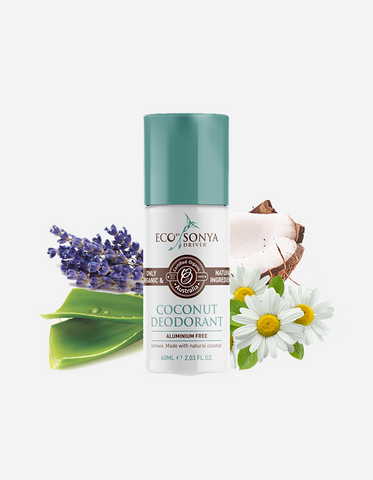Eco by Sonya - Coconut Roll On Deodorant 60ml