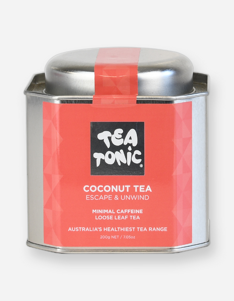 Tea Tonic – Coconut Loose Leaf Tin