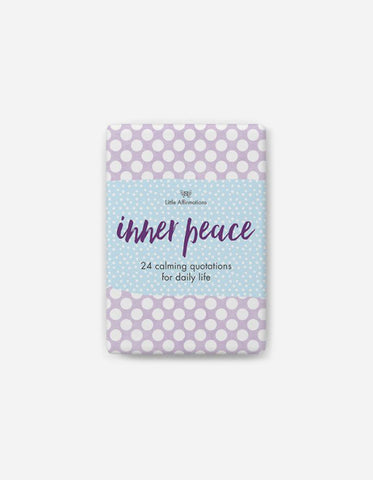 Every Day Little Affirmations - Inner Peace