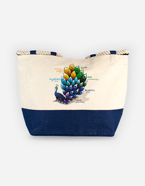 Junomojo Canvas Beach Bag