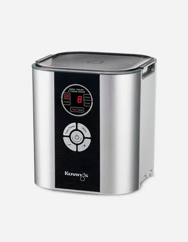 Kuvings Yogurt & Cheese Maker - Silver