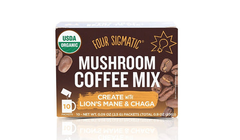 Four Sigmatic Mushroom Coffee with Lion's Mane and Chaga