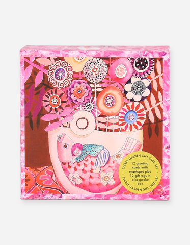 Affirmations - Secret Garden Box Notecards - Love