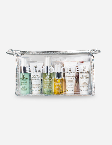 Simplicite - Travel Face Essentials Pack – Combination/Oily Skin