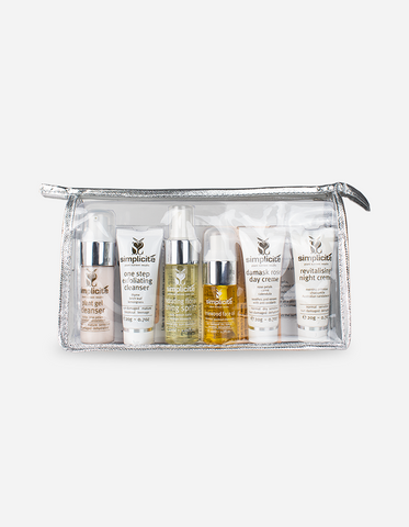 Simplicite - Travel Face Essentials Pack – Normal/Dry Skin