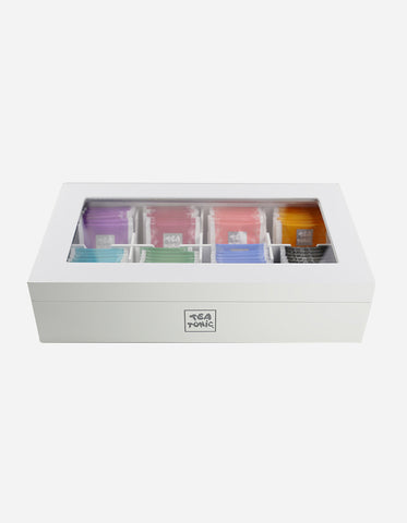 Tea Tonic Wooden Deluxe Tea Chest - 56 Teabags