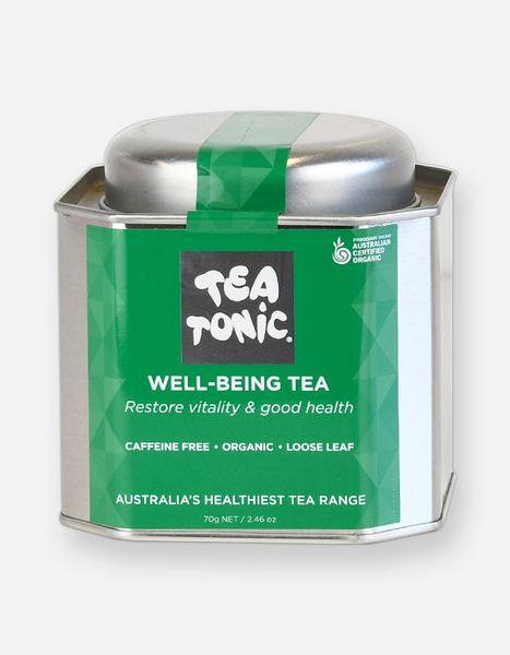 Tea Tonic – Wellbeing Loose Leaf Tin