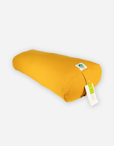 Organic Cotton Oval Yoga Bolster