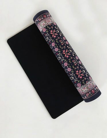 Yogi Peace Club - Lotus Yoga Mat Grip + Pink
