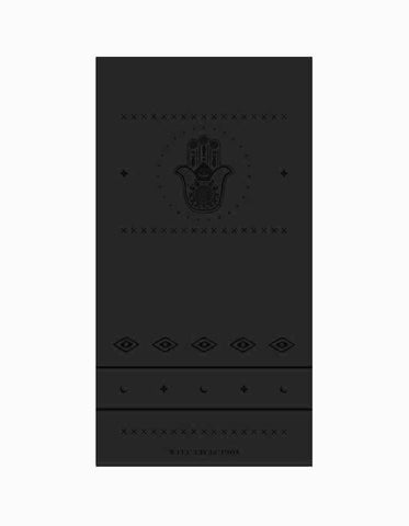 Yogi Peace Club - Ultimate Yoga Mat Black