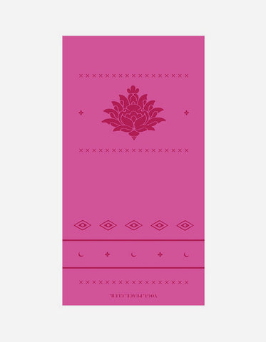 Yogi Peace Club - Ultimate Yoga Mat Pink
