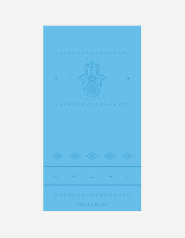 Yogi Peace Club - Ultimate Yoga Mat Blue