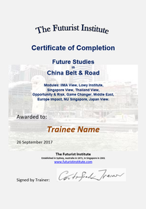 Topic 75 E-Learning - China Belt & Road - Student Discount