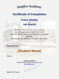Topic 11  E-Learning - Future Studies in Job Search