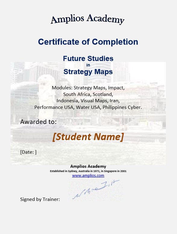 Topic 14 E-Learning - Future Studies in Strategy Maps