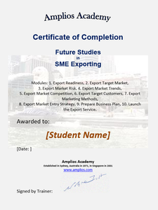 Topic 64 E-Learning - Program for Exports - International Student Version