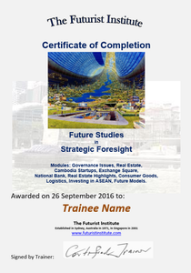Topic 08 E-Learning - Strategic Foresight