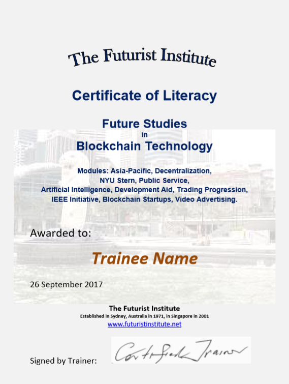 Topic 86 E-Learning - Blockchain Technology - Student Discount