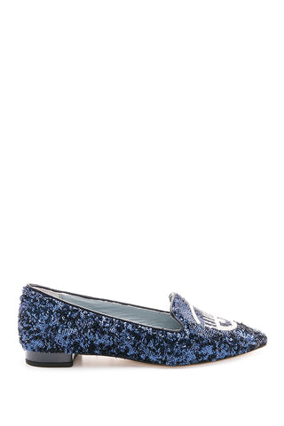 CHIARA FERRAGNI  BLUE SHOES CF1234-BLU