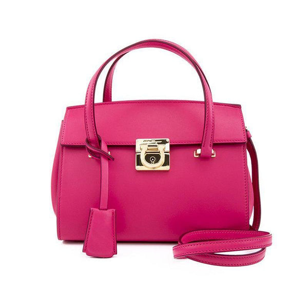 SALVATORE FERREGAMO WOMENS PINK BAG 21F827-642810