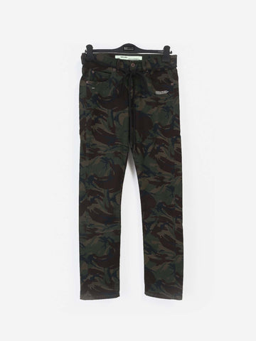 OFF-WHITE  TROUSERS OMYA003S-18814022-9901