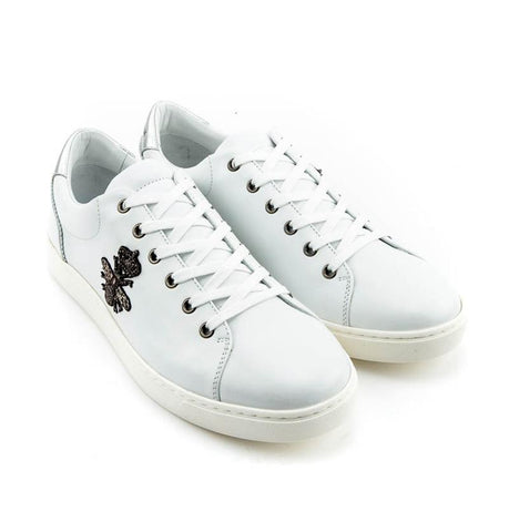 DOLCE & GABBANA  WHITE SHOES CS1475-AB731-8B441