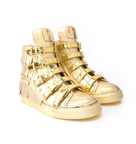 GIUSEPPE ZANOTTI  GOLD SHOES RS5079-56049-GOLD