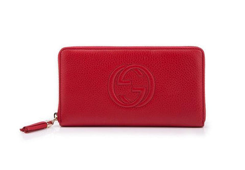 GUCCI  RED WALLET 291102-A7M0G-6523