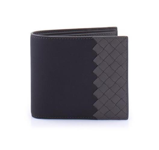 BOTTEGA VENETA  TWO TONE WALLET 113993-VM40C-1060