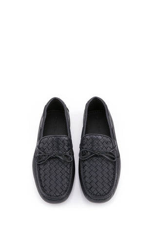 BOTTEGA VENETA  BLACK SHOES 308160-VQ921-4115