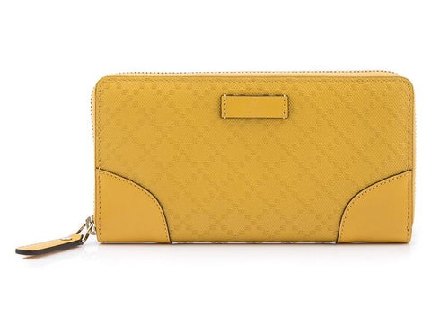 GUCCI  YELLOW WALLET 354487-AIZ1G-7011