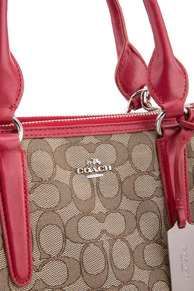 COACH  RED BAG 33524-SV-KHAKI-SVDQ4