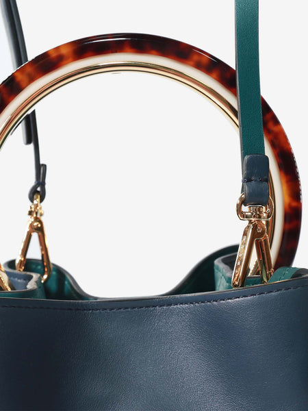 MARNI WOMEN NAVY BLUE BAG SCMPU09T13-LV589-Z1Z34