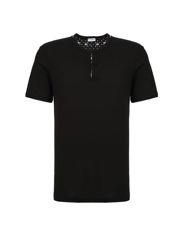 DOLCE & GABBANA  BLACK T-SHIRT M17900-ONE87-N0000