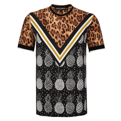 DOLCE & GABBANA  MULTICOLOR T-SHIRT G8HA8T-HP7EJ-HH986