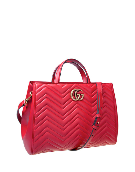 Gucci HIBISCUS RED BAG 443505DTD1T6433