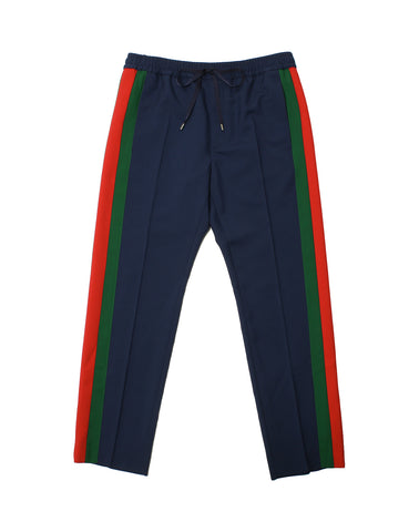 GUCCI  BLUE TROUSERS 493714-Z6903-4729