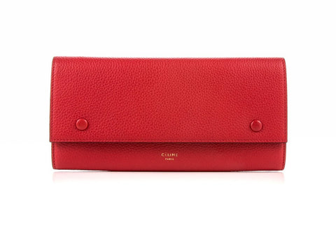 CELINE  RED WALLET 101673-JFL-25C0