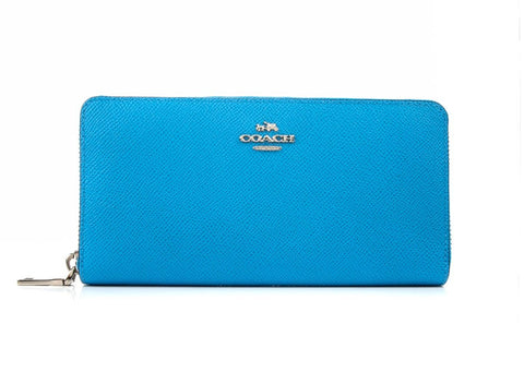 COACH  BLUE WALLET 52372-SV-AZ