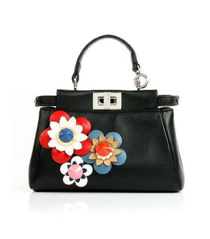FENDI  BLACK BAG 8M0355-7J2-X93