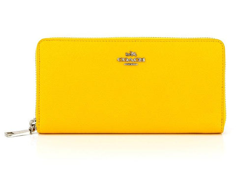 COACH  YELLOW WALLET 52372-SV-Y3