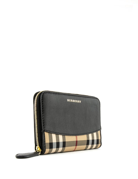 BURBERRY  BLACK WALLET 4020265