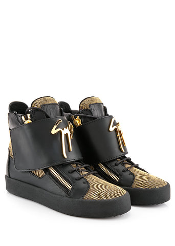 GIUSEPPE ZANOTTI  BLACK SHOES RS5064-57040-BLACK