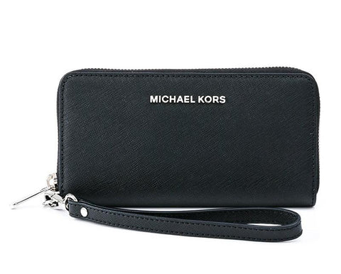 MICHAEL KORS  BLACK WALLET 32T4STVE3L-001