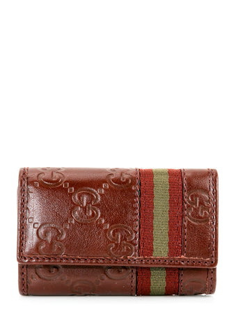 GUCCI  RED WALLET 138077-A0VBR-6186