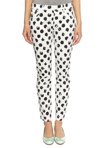 DOLCE & GABBANA  WHITE TROUSERS FT13XD-G8934-X0800
