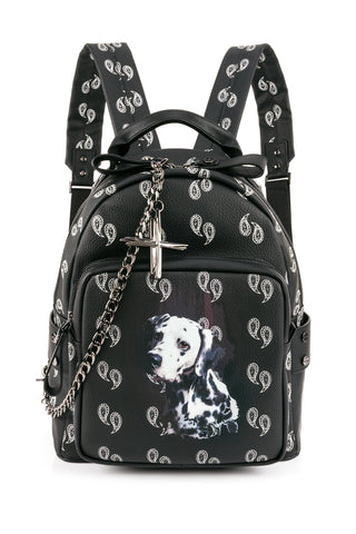 TEO HANN  BLACK BAG PP2BACKPACK-S-PVC-BLK
